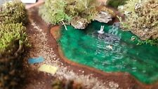 Spur Z diorama See | Preiser figuren | 1:220 | Märklin mini-club