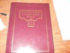 Packard 1922 - 1928, Service Manual, 182 pages, Nice!