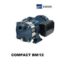 POMPA EBARA CENTRIFUGA MULTISTADIO HP 1.2 COMPACT BM/12 PER AUTOCLAVE 220V