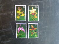2000 GRENADA ORCHIDS SET 4 MINT STAMPS MNH