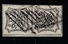 FRANCOBOLLI - 1852 STATO PONTIFICIO COPPIA 8 BAJ Z/8592