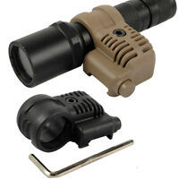 Tactical Rifle 25.4mm Scope Flashlight Ring Mount Adjustable 20mm RIS Rail