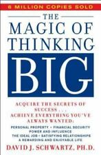 The Magic of Thinking Big by David J. Schwartz (1987, Paperback)