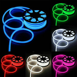 12V Flex Neon LED Rope Lights for Xmas Home KTV Bar Signs Decor In/Outdoor 1M5M