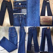 """Vtg Levi's 508-0217 Jeans W 27 (Waist Measures 26"""" Inseam 28"""")"""