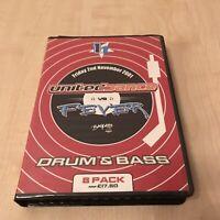 DRUM N BASS JUNGLE TAPE PACK CASSETTE BOX 8 TAPES UNITED DANCE VS FEVER