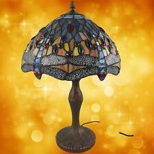 Tiffanylampe komplett Tisch Lampe Weihnachtgeschenk H.50-D.30cm  Tischleuchten