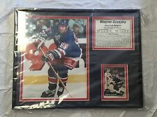 VINTAGE & RARE NHL NEW YORK RANGERS WAYNE GRETZKY WALL PLAQUE