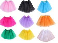 Neu Tüllrock zur Wahl Rock Mini HOT Süß Petticoat unterrock Tüll Tutu Tuturock