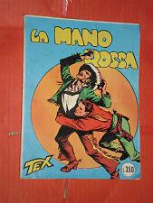 TEX GIGANTE LIRE 350 COPERTINA N°1-b- MANO ROSSA 1964 -aut2926 NO SPILLATO-fieg