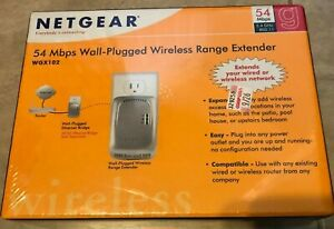 Netgear 54 Mbps Wireless Powerline Access Point Range Extender WGX102 Wall Plug