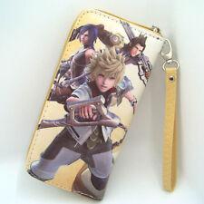 Anime Unisex Kingdom Hearts Cosplay PU Leather long Purse Wallet