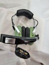 DAVID CLARK AVIATION HEADSET H5030 VOICE POWERED DUAL EAR