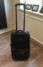 Eddie Bauer Suitcase Carry On Dark Green & Black Good Condition RRP £149