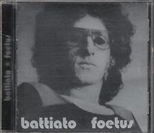 """FRANCO BATTIATO - RARO CD IN INGLESE """" FOETUS """""""