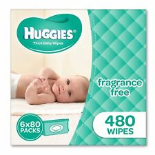 Huggies Fragrance Free Baby 960 Wipes Bundle Pack Nappies Boy Girl New Born Mums