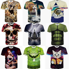 Funny Valentine Mens 3D Print Graphic Short Sleeve Casual T-Shirts Top Tee Shirt