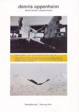 Dennis Oppenheim short circuit / cortocircuito - Silvana Editoriale Milano 2007