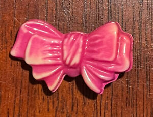 Size large Celluloid button, pink