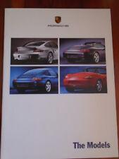 Porsche range brochure Jul 1999