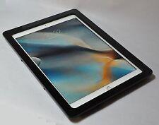 iPad Pro 12.9 Black Acrylic Anti-Theft Wall Mount Kit 4 Kiosk, POS Store Display