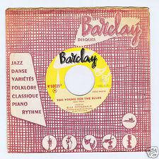 45 RPM SP ELLA FITZGERALD TOO YOUNG FOR THE BLUES