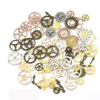 20pcs Steampunk Retro Metal Mixed Gears Cog Wheel Charms Pendant Sets Handwork