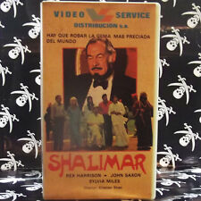 SHALIMAR (Cristian Shax) VHS . Rex Harrison, John Saxon, Sylvia Miles