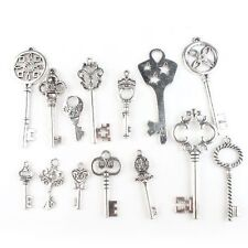 14x 142764 New Wholesale Assorted Antique Silvery Charms Pendants Fit Necklaces