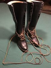 Womens Whites Boots Cowboy Boots Black Size 7 1/2