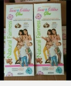 1 Kids & Teens Glow Natural Fairness Moisturizing Body Lotion - 400ml