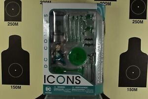 DC Icons Action Figure Accessory Pack Green Lantern Arrow Batman Weapons