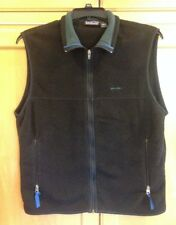 Women's Classic Patagonia Synchilla Black Fleece Sleeveless Vest Coat - L