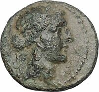 ANTIOCHOS IX Kyzikenos 108BC Seleukid Apollo Artemis Ancient Greek Coin i47332
