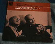 BEETHOVEN VIOLIN CONCERTO,  SZIGETI WALTER UK LP HMV HQM 1224 NM/Ex