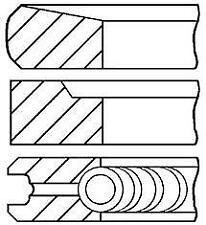1x New Genuine  Goetze 08-431700-00 Piston Ring Set KIA,D4CB