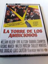 """DVD """"LA TORRE DE LOS AMBICIOSOS"""" PRECINTADO SEALED ROBERT WISE WILLIAM HOLDEN BA"""