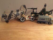 HASBRO VINTAGE  G.I. JOE Motorcycle,Helicopters