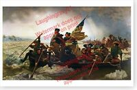 Washington Crossing The Delaware Emanuel Leutze Art Print Poster