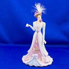 Croquet Anyone? Elegant Era Victorian Lena Liu Bell  Bradford Exchange