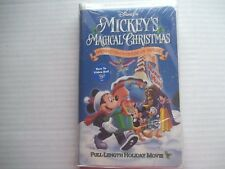 """VHS~ Disney's~Mickey's Magical Christmas~Snowed In at the House Of Mouse """"NEW"""""""