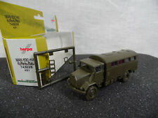 ht318, Roco / Herpa 743228 MAN 630 Koffer Aufbau / Minitanks / NEUWARE