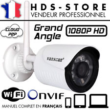 CAMERA IP EXTÉRIEURE WANSCAM HW0022 WIFI FULL HD 1080P ÉTANCHE INFRAROUGE ONVIF