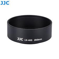 JJC 46mm Metal Screw-in Standard Lens Hood Fr OLYMPUS M.ZUIKO DIGITAL 25MM 1:1.8