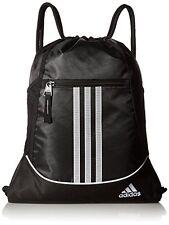 NEW adidas Alliance II Sackpack 18 x 13 3 4 Inch Black FREE SHIPPING