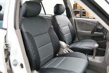 TOYOTA COROLLA 1998-2002 IGGEE S.LEATHER CUSTOM SEAT COVER 13 COLORS AVAILABLE