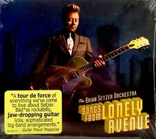 BRIAN SETZER ORCHESTRA - SONGS FROM LONELY AVENUE -  STILL SEALED CD