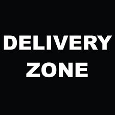 "Delivery Zone Sign 8"" x  8"""