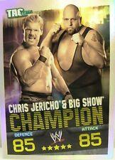 Slam Attax Evolution #010 Chris Jericho & Big Show