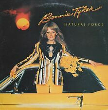 "Vinyle 33T Bonnie Tyler  ""Natural force"""